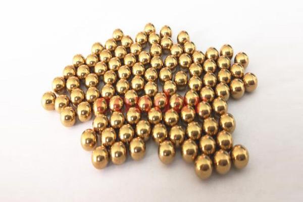 天津黄铜球