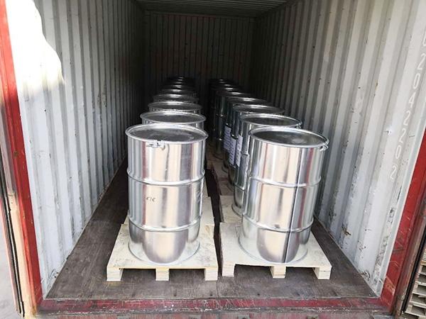 出口包装:铁桶+托盘